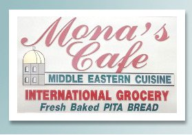 Mona's Cafe New Orleans logo